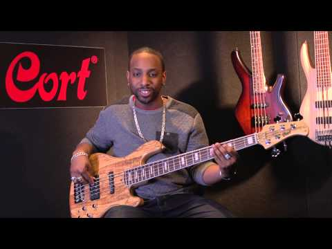 Cort Custom GB5 five-string bass