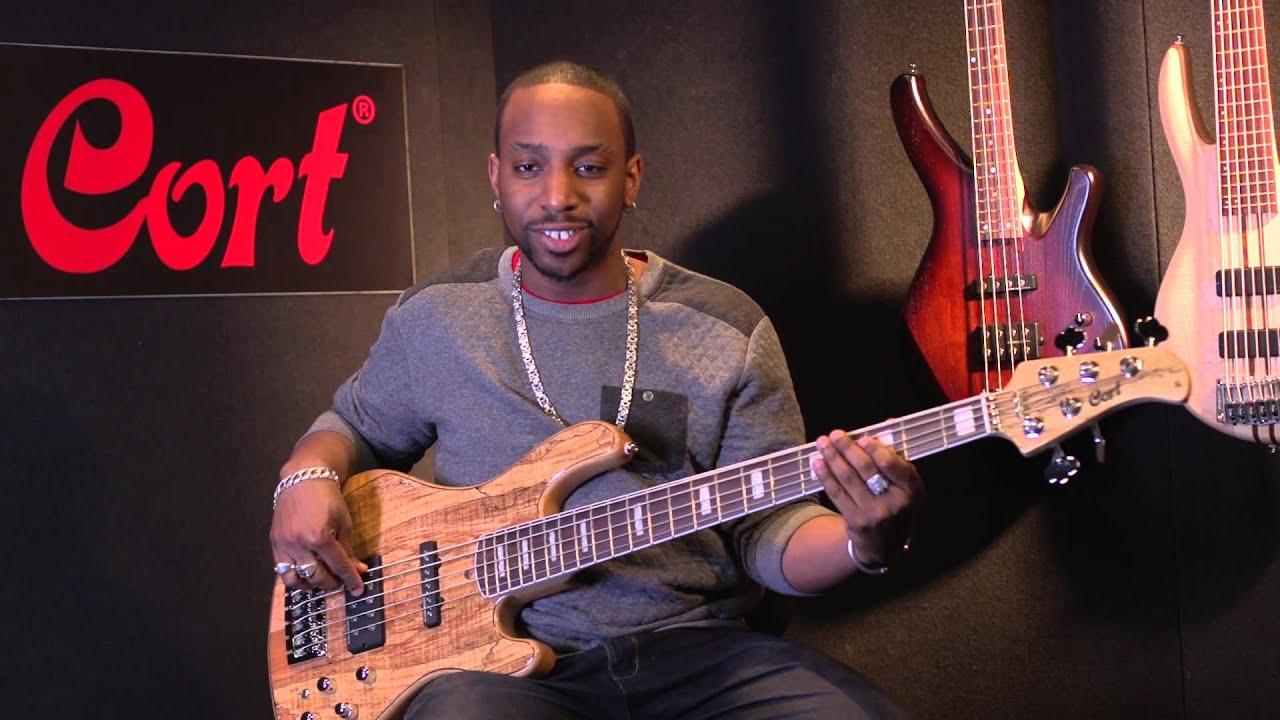 cort custom gb5 five string bass youtube