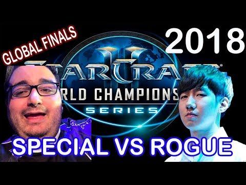 SPECIAL VS ROGUE - WCS GLOBAL FINALS 2018 - STARCRAFT 2 ESPAÑOL
