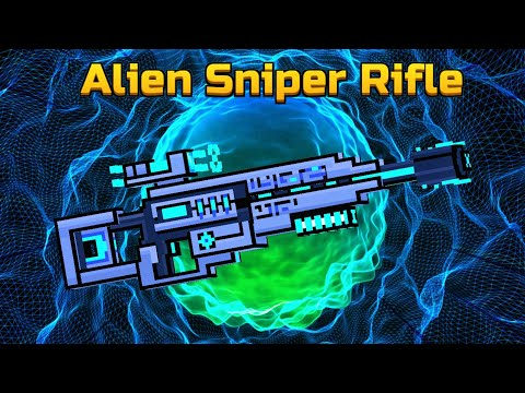 Pixel Gun 3D | Alien Sniper Rifle [New Gameplay!]