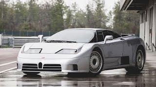 видео Bugatti EB 110