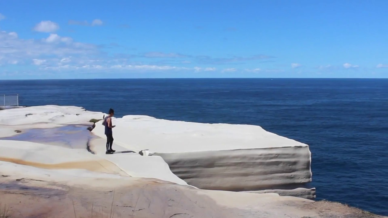 Wedding Cake Rock Royal National Park Youtube