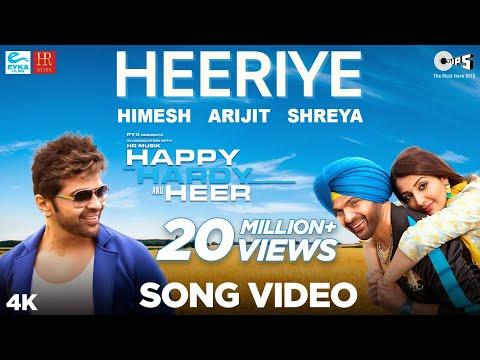 Heeriye Official Song- Happy Hardy And Heer | Himesh Reshammiya, Arijit Singh, Shreya Ghoshal |Sonia