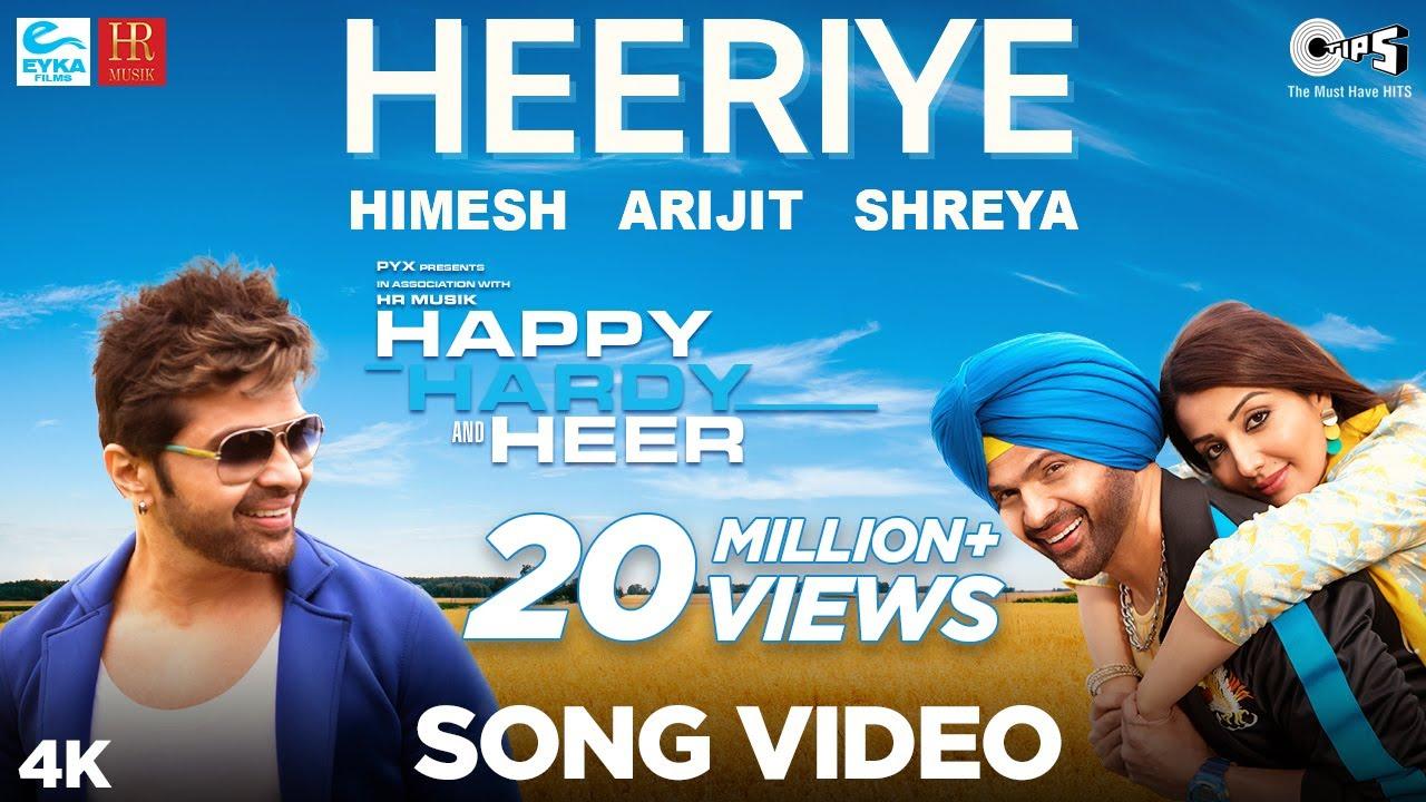 Download Heeriye Official Song- Happy Hardy And Heer | Himesh Reshammiya, Arijit Singh, Shreya Ghoshal |Sonia