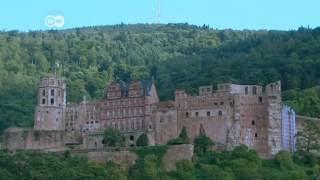 Top 10 Sehenswürdigkeiten in Deutschland - Altstadt und Schloss Heidelberg