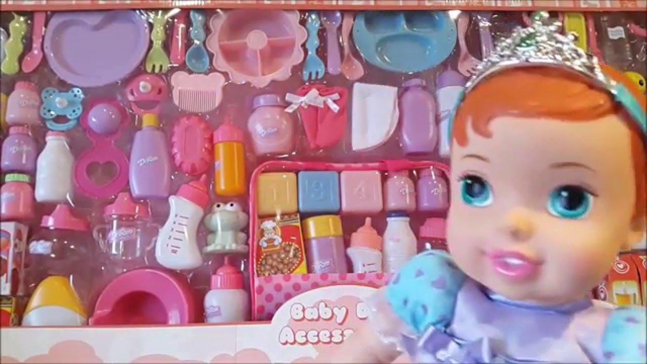 100 Accesorios para Bebe de juguete I BEBÉ ARIEL I Juguetes de bebés ...