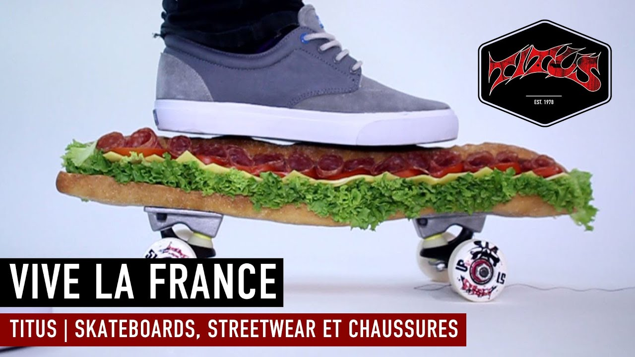 fb97a7a694a4 Titus skateshop est maintenant en France - YouTube