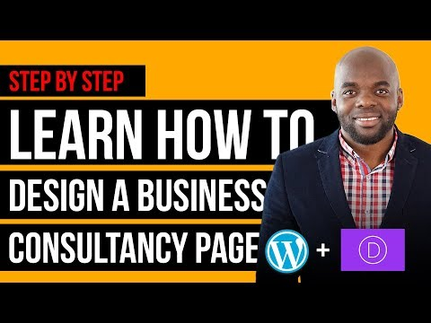 New Divi theme 3.0 tutorial   How To Make A Business Page with Divi