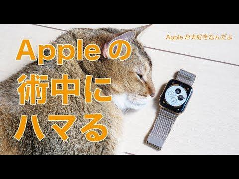 新色ゴールドミラネーゼループ・Apple Watch Series 4ゴールドステンレスでAppleの術中にハマる