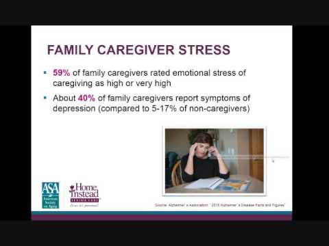 Caring for Someone With Alzheimer's Professional Caregiver Webinar