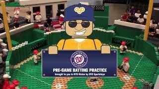 Washington Nationals - Pre-Game Batting Practice