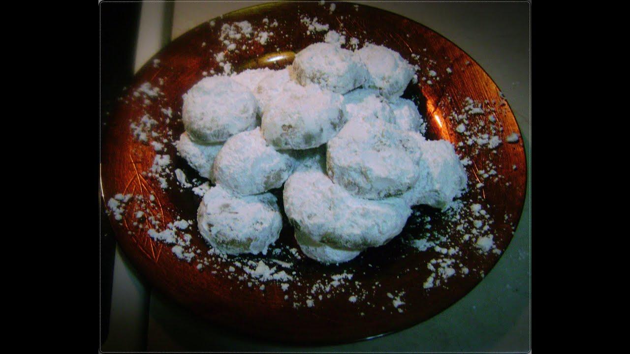 963349f6558 Γρήγοροι νηστίσιμοι κουραμπιέδες! Fast lenten christmas sweets Ep.53 ...