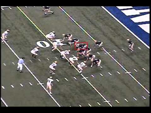 75 William Ash Right GuardLeft Tackle Cathedral High School Football Indianapolis, IN