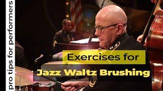 Pro Tips - Jazz Waltz Brush Pattern