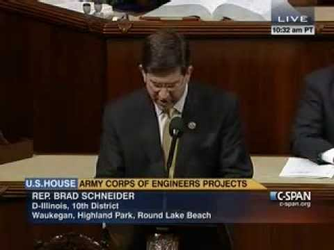 Rep. Schneider Urges Support for Critical Water Resources Bill