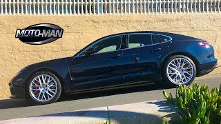 2018 Porsche Panamera Turbo FIRST DRIVE REVIEW: Forget the Volvo station wagon.