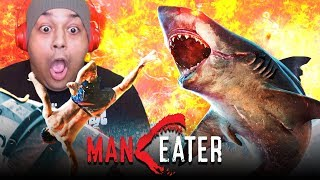 THIS IS TOO FUN!! I'M A MAN EATER PAUSE THO!!! [MANEATER]