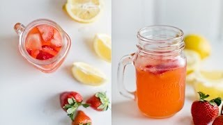 Homemade Strawberry Lemonade To Beat The Summer Heat
