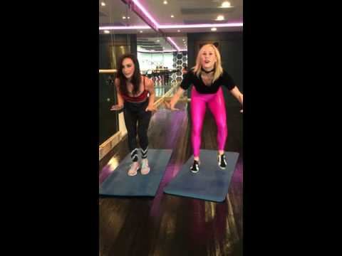 Halloween BootyWorks Workout with Danielle Harris and Sydney Benner