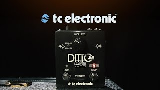 tC Electronic Ditto Jam X2 Looper Overview with Tore Mogensen  Gear4music