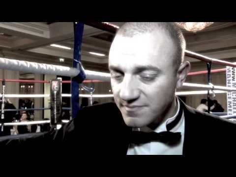 MICKEY HELLIET POST-SHOW INTERVIEW FOR iFILM LONDON / ROBERT BURNS CELEBRATION BOXING DINNER