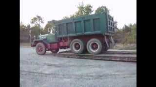 mack b81 being offload