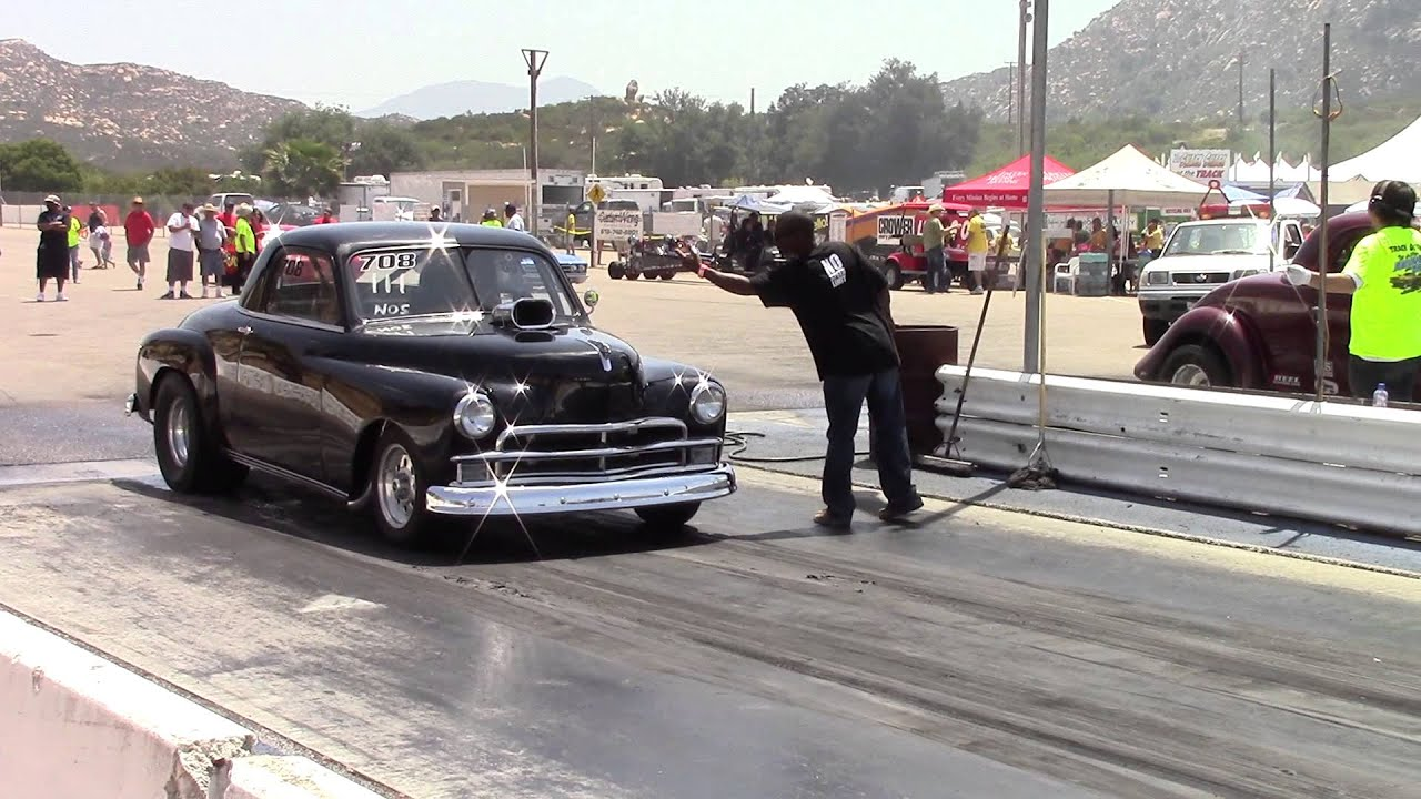 Chevy Coupe Drag Race Car