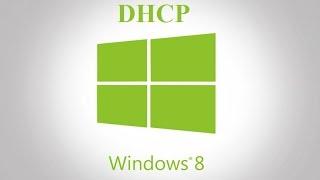 Kак включить DHCP на Windows 8