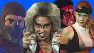 Что стало с актерами игры Mortal Kombat 3