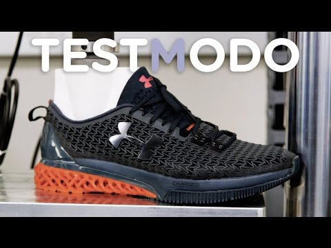 We Beat Up Under Armour's New 3D-Printed Shoe and It Survived