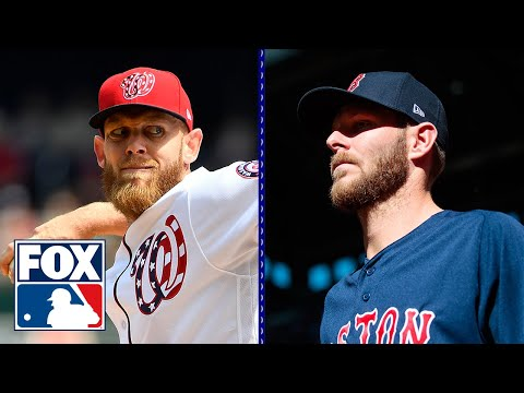 What's wrong with Chris Sale and what are the expectations for Stephen Strasburg? | MLB WHIPAROUND