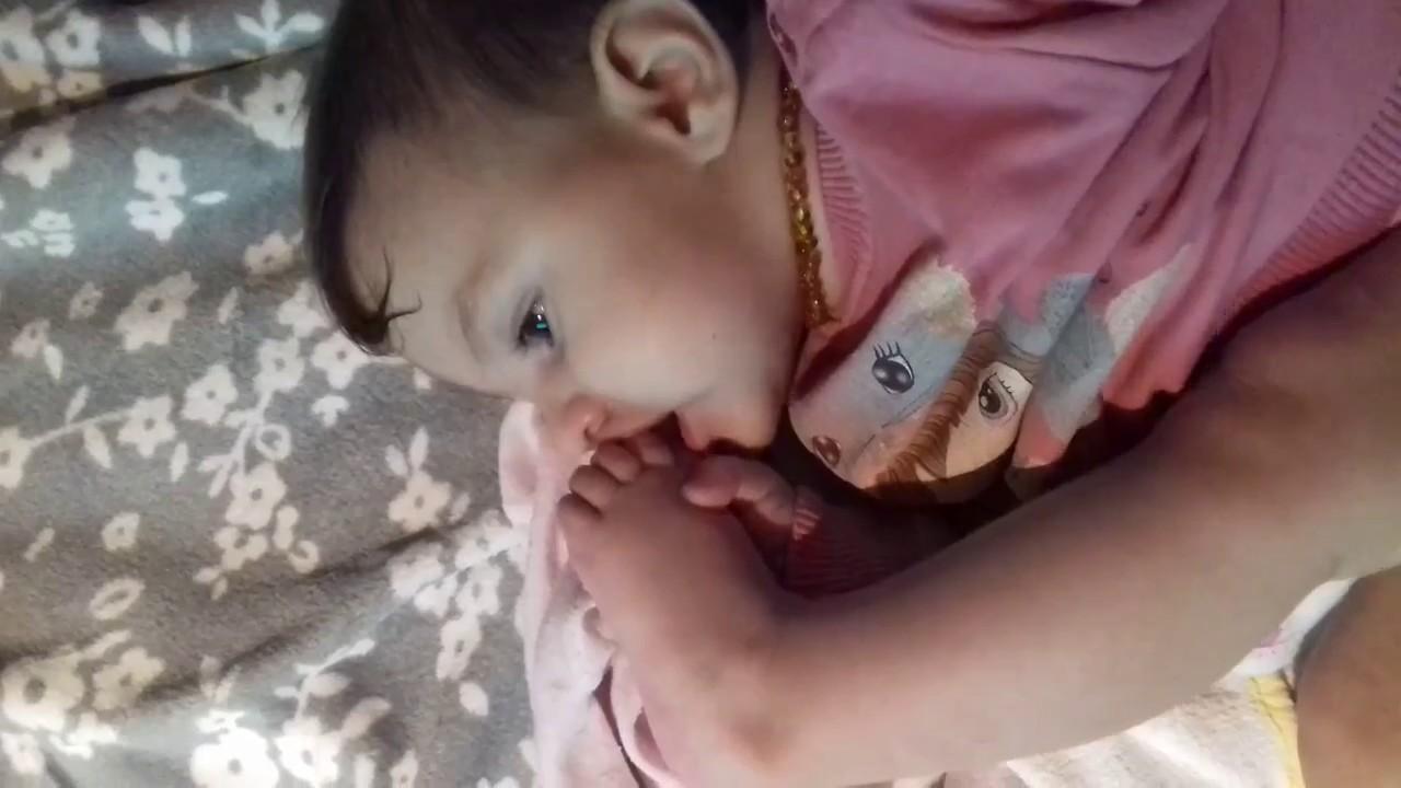 Sweet Small Baby Sucking Her Big Toe - Youtube-3663