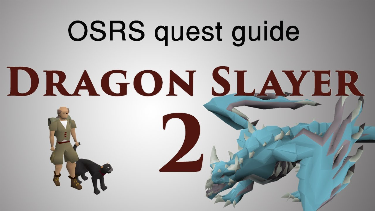 Osrs Dragon Slayer 2 Quest Guide Youtube