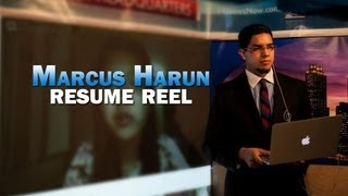 Marcus Harun 2013 Reporter & Anchor Resume Reel