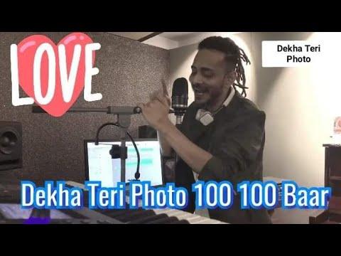 Mai Dekha Teri  Photo 100 ||  Whatsapp Heart Status | Home Studio Tanishk Bagchi