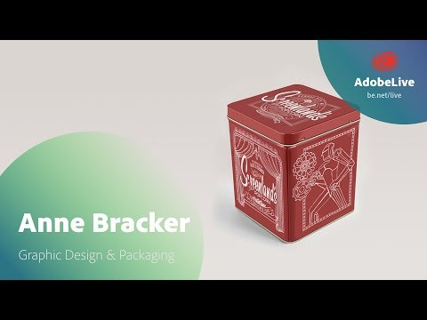 Live Graphic Design & Packaging with Anne Bracker 1/3