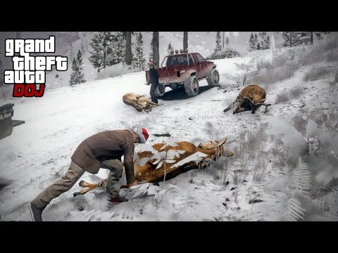 GTA 5 Roleplay  DOJ 340  Winter Hunting Criminal