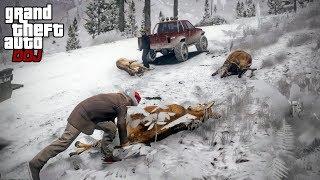GTA 5 Roleplay - DOJ 340 - Winter Hunting (Criminal)