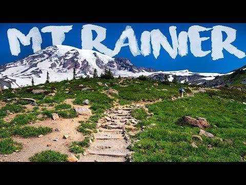 Hiking an ACTIVE VOLCANO   Mt Rainier   Panorama Point
