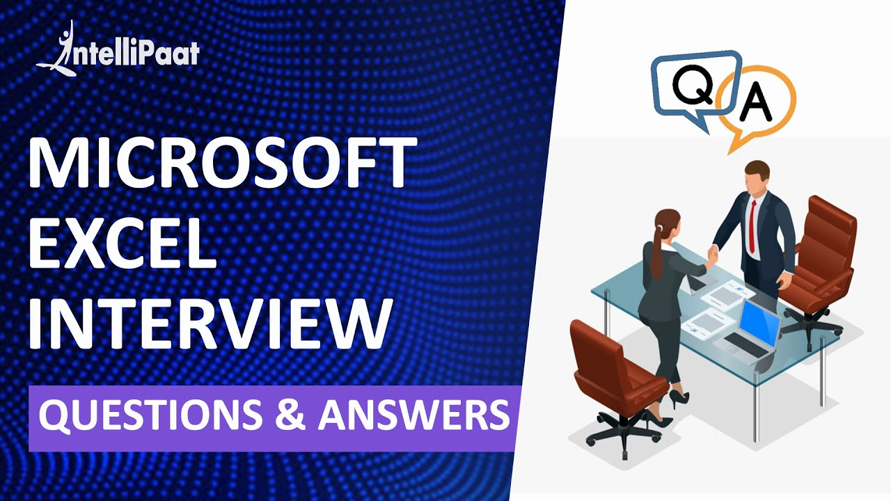 Excel Interview Questions | Excel Job Interview | Excel Formulas and Functions