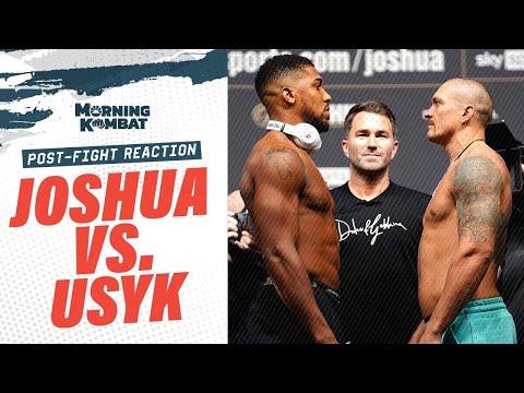 Download Results: Anthony Joshua vs. Oleksandr Usyk Instant Reaction   Morning Kombat