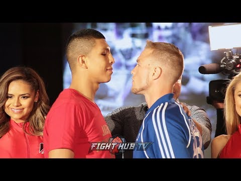 JAIME MUNGUIA MAKES HIS GRAND ARRIVAL IN VEGAS AND FACES OFF WITH BRANDON COOK