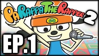 Let's Play: Parappa The Rapper 2 EP.1 - A Noodling Adventure! (60 FPS)