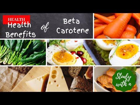 Health Benefits of Beta Carotene