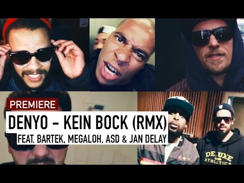 Denyo feat. Jan Delay, ASD, Megaloh & Bartek - Kein Bock // Allstar-Remix (16BARS.TV PREMIERE)