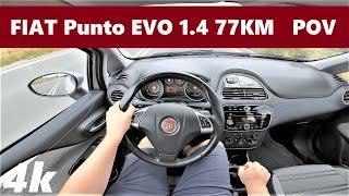Fiat Punto EVO 1.4 77KM (2009) POV Drive Test & Acceleration   Good City Car   4K #45