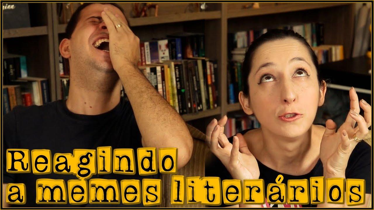 MEMES LITERÁRIOS - parte 3 📚😆 | Alegria Literária