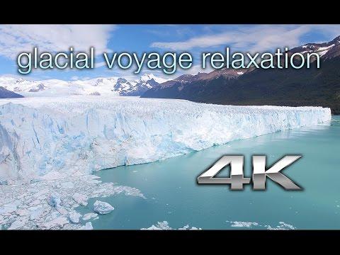 Glacial Voyage in 4K: Argentina's Perito Moreno Glacier | a Nature Relaxation™Experience