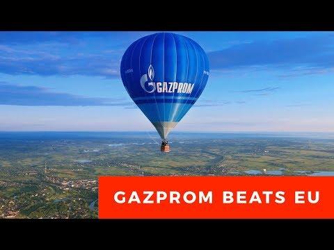 Gazprom beats EU witch-hunt, legal dispute