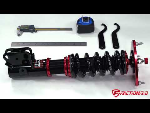 FactionFab How to Adjust Pre-Load and Ride-Height on Coilovers Suspension